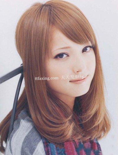 及肩中长发-大脸适合什么发型 2012最新瘦脸的发型推荐图片