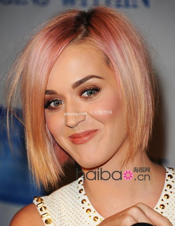 让人耳目一新的感觉 短直发发型是今年最流行的