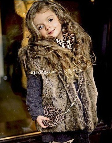 小女孩发型图片 20款小女孩漂亮发型图片