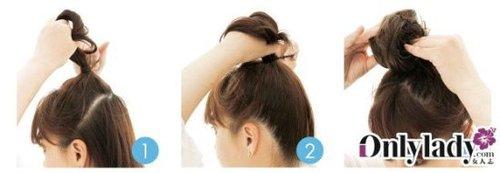 长发简易发型扎法 轻松搞定5大热门潮流发型