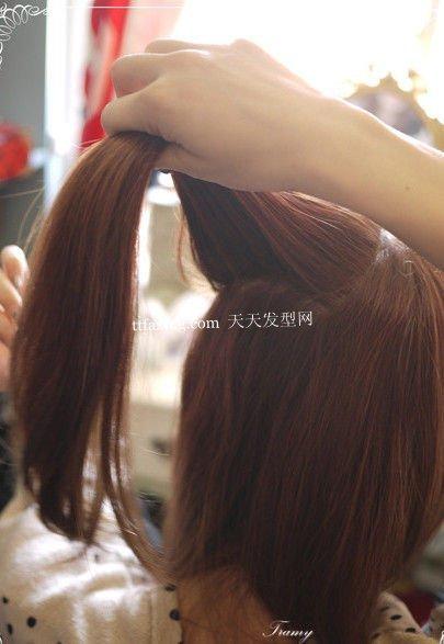 一步一步学习风靡日系的猫咪头发型DIY
