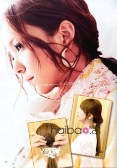 麦秀发型屋教你打造清雅浪漫型OL风格的马尾发型