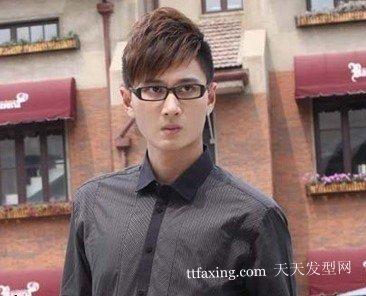 2012将成为焦点的魅力男士发型设计图片