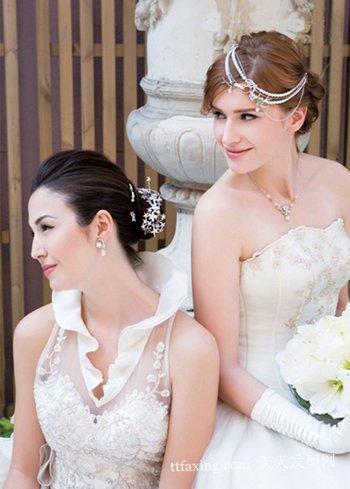 新娘短发造型图片 2010新娘短发造型全功略