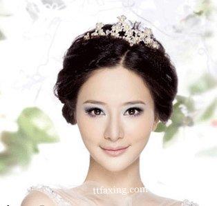 新娘发型设计图片 十位女明星新娘发型图