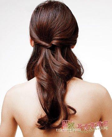 韩式新娘发型 适合不同脸型的韩国新娘发型