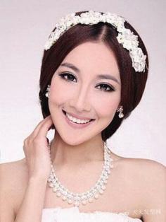 2012年日韩最为流行的新娘发型设计