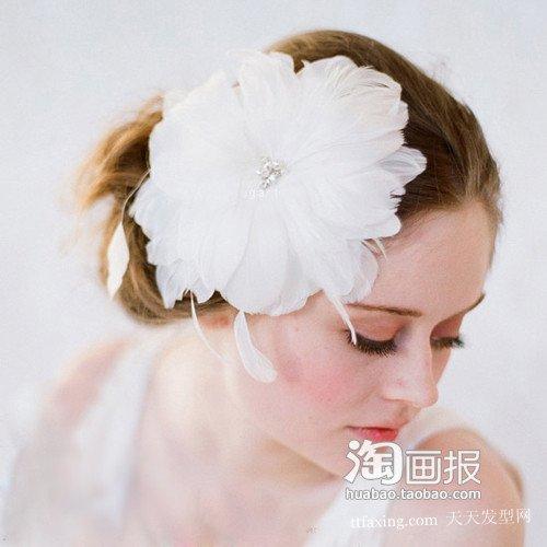 新娘发饰 新娘编辫子的方法~萌动潮女
