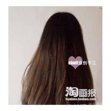 复古扎发 2012年韩式长发发型扎法