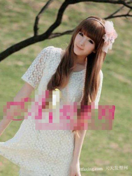 非主流发型 2012最新流行烫发~塑造迷人小脸