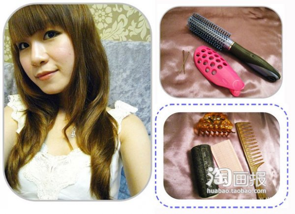 空气感刘海发型 2012最新卷发发型~减龄必须