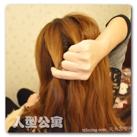 温暖又美丽的韩式发型~而且百变