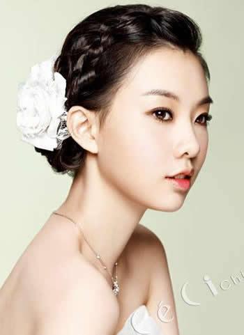 独一无二韩国新娘发型~淑女味十足的