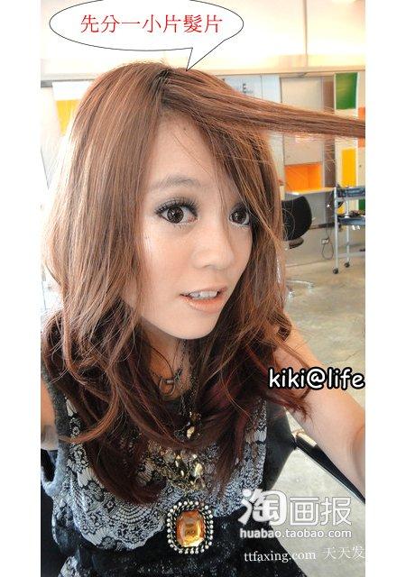 简易刘海 2012最新流行的女发~简单又时髦