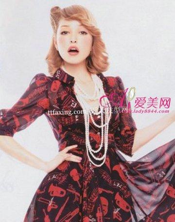 日本名模发型招桃花~优雅动人