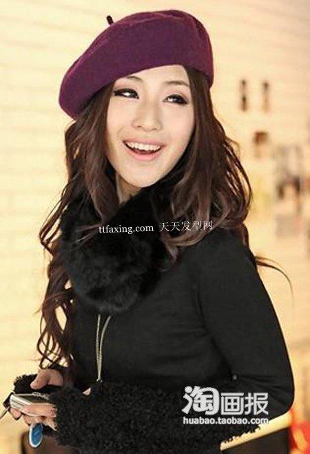 甜美发型~甜美一季 2012年新款发型