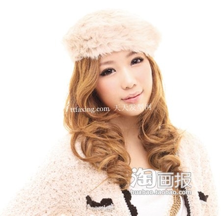 蓬松长发~韩系潮女 2012最新发电发图片