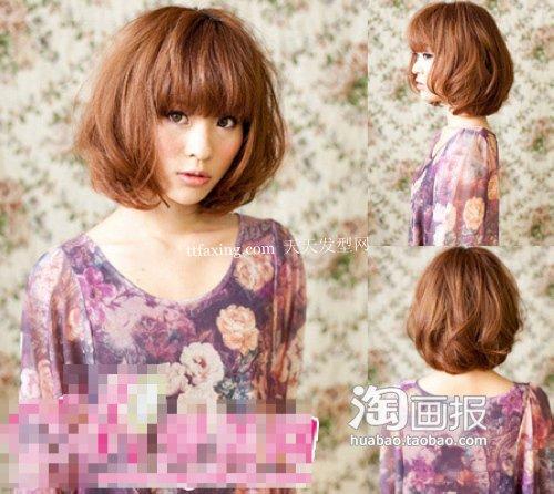 日系发型~灿烂如花 2012的新发型
