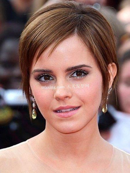 短发发型图片 女明星们的短发发型设计