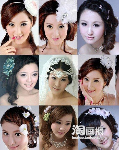新娘造型 新娘婚纱照~扮嫩高人气