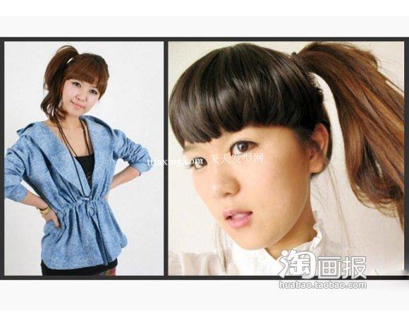 清爽发型 流行美2012秋冬新发型