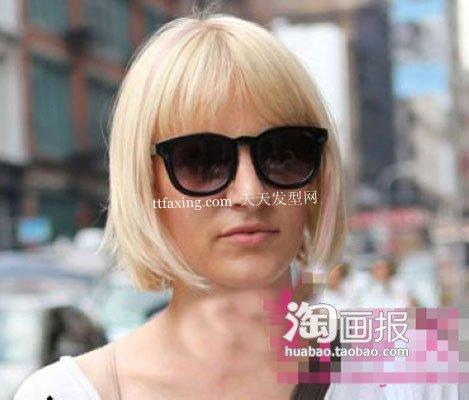 街拍流行发型 2012最新长发