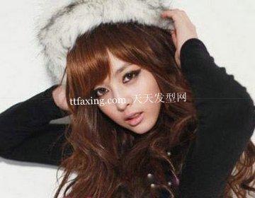 优雅俏皮风的韩系瘦脸美发~依然前卫