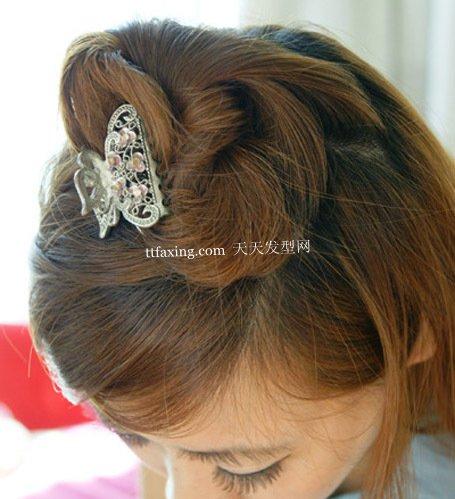 丸子花苞+花轮头 自然花苞发型~简单易懂