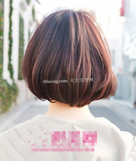 小脸发型 最新女生发型图片~踏春洋气哈
