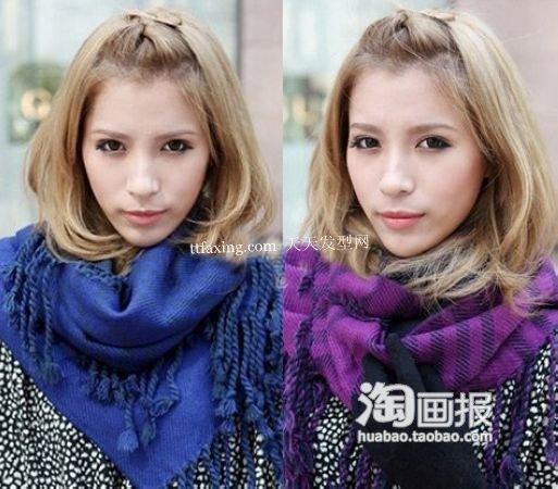 最近流行发型 2012最新流行发型图片~网友亲身示范