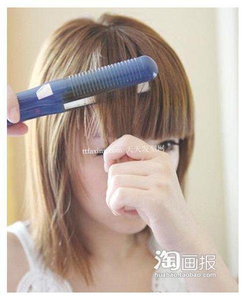超实用短梨花 多长的头发才能烫梨花头~可爱俏皮