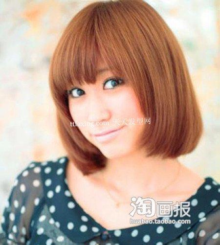 今年流行沙宣 2012最新发型颜色~超简单必备