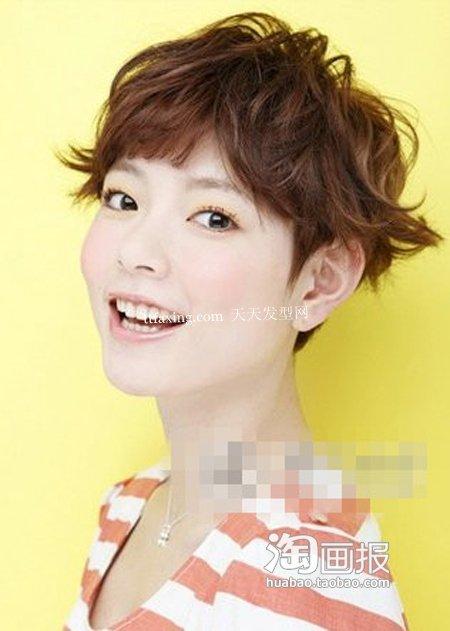 夏季发型 2012日韩新发型
