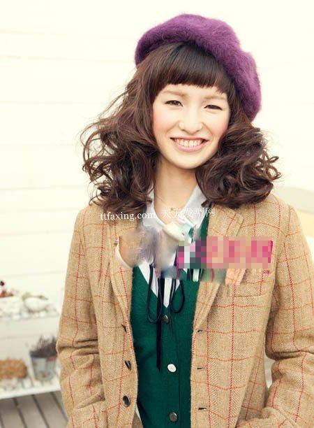 帽子发型~简单实用 2012最新直发发型