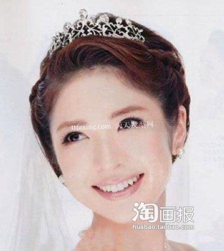 新娘韩式发型 显瘦新娘发型~围观达人