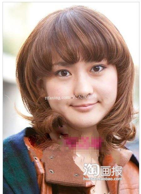 自然风发型 2012最新直发型女~全民风靡