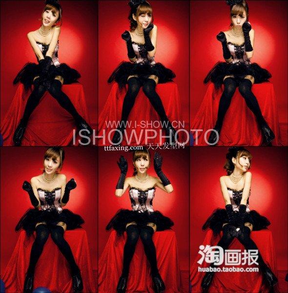 芭比潮爆发型~美丽就是这么简单 2012韩国最新发型
