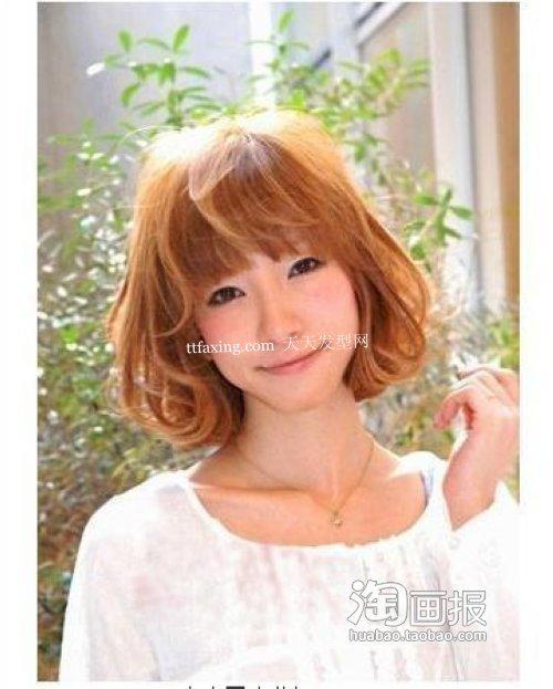 小脸日韩发型 2012新发型~清爽迷人