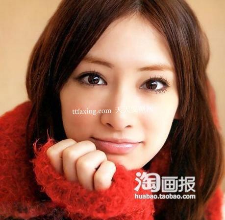 日剧中分发型~胖脸MM救星 2012最新流行学生时尚头型