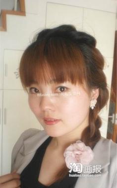 最新麻花辫~甜蜜汇合 最新流行梳发