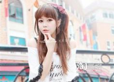 鹅蛋脸发型 2012年最新流行梳法~手把手教你