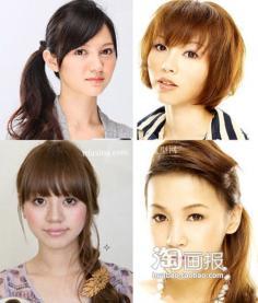 简单发型~赚足回头率 流行美2012最新发型