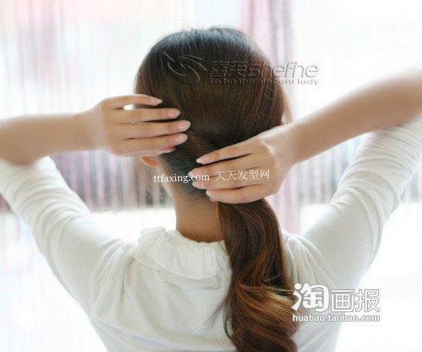 韩式发型 2012年最新发型扎法~文艺风唯美