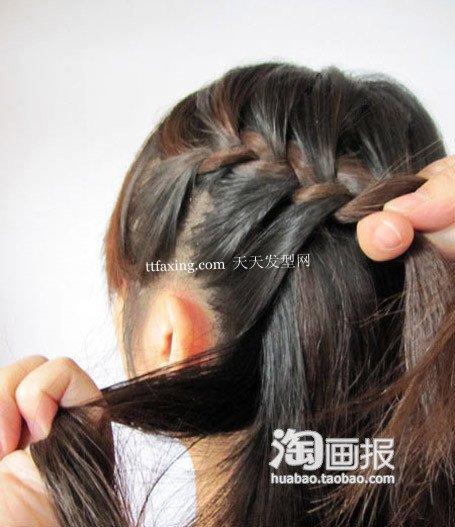 公主头+蝎子辫 天蝎座女孩的发型~美发牛人