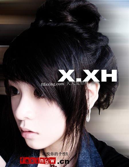 非主流时尚发型图片~青春魅力范