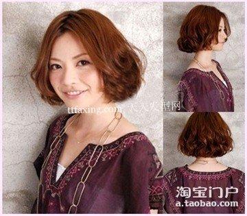 清纯甜美的发型~十分优雅