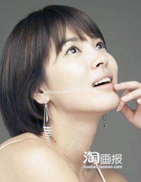 扮嫩发型 2012最新流行发型图片~典雅示范