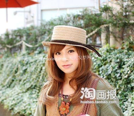 全面柔美帽子发型揭秘 流行美的韩版发型