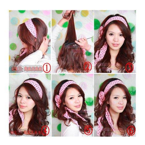 最全的发型~完美MM必看 2012年女生最新发型