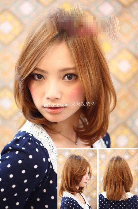 气质发型 2012年最新韩版女生发型~可爱小女人